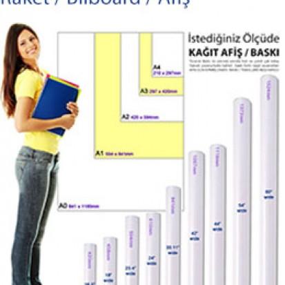 Kağıt Dijital Baskı - 50x70 cm