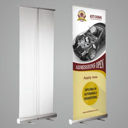 Roll Up Banner Reklam 85x200 cm