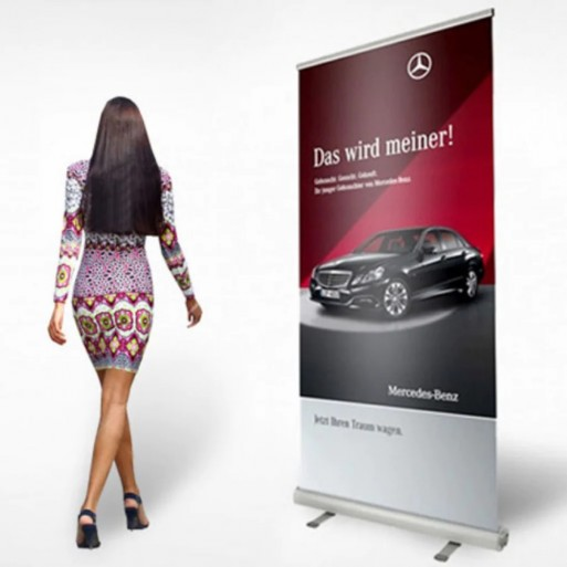 Roll Up Banner Reklam 100x200 cm
